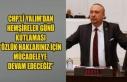 CHP'Lİ YALIM'DAN HEMŞİRELER GÜNÜ KUTLAMASI...