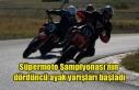 Süpermoto Şampiyonası'nı dördüncü ayak yarışları...