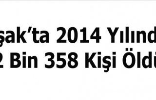 Uşak´ta 2014´te 2 Bin 358 Kişi Vefat etti
