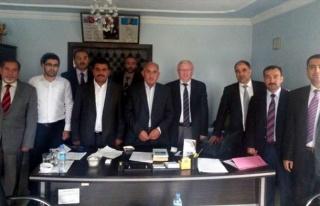 İlçe Müftüleri Toplantısı Sincik'te Yapıldı