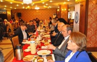 Satso Başkanı Mahmut Kösemul Değerlendirme Toplantısı...