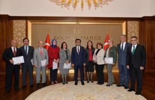 Vali Güzeloğlu'ndan İçişleri Bakanlığı Birim...
