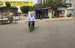 Başkan Kutlu, Bu Kez De Motosiklet Kullandı