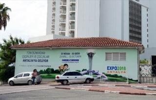 Antalya'da Trafolar EXPO 2016 Görselleri İle Kaplanıyor