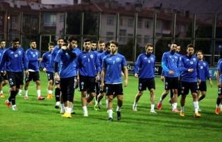 Kayseri Erciyesspor Göztepe Maçının Hazırlıklarına...