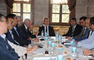 Talas'ta Altyapı Kuruluşları Koordinasyon Toplantısı