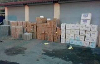Batman'da 60 Bin 500 Paket Kaçak Sigara Ele Geçirildi