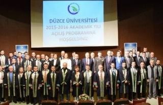 2015-2016 Akademik Yılı Açılış Törenimizi Gerçekleştirdik