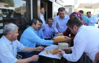 AK Parti Antalya Milletvekili Adayı Hüseyin Samani
