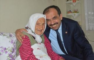 Milletvekili Balta'dan 105 Yaşındaki Kudu'yu...