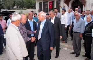 Milletvekili Mehmet Erdoğan, Şehit Polis Tayfun'un...
