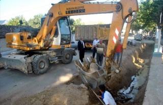İncirliova Belediyesi, Sınırteke'nin Drenaj Sorununu...