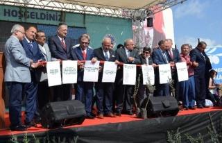 Erdemli'de Toplu Açılış Ve Temel Atma Töreni