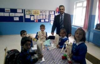 Hasanlar Ortaokulu'na Merkez Bankası'ndan Eğitim...