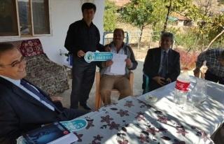 Başkan Karaçoban, Sorunları Yerinde İnceliyor