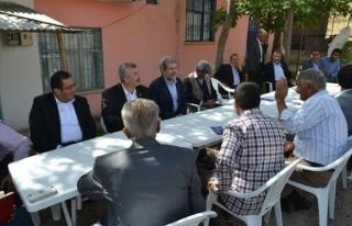 Nurettin Yaşar, Arapgir İlçesini Ziyaret Etti