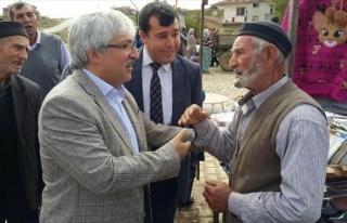 AK Parti Adayı Koca, İhsaniye İlçesini Ziyaret...