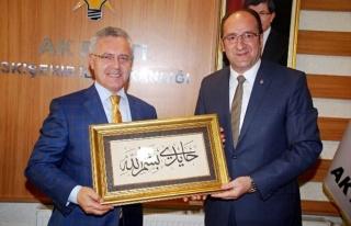Mustafa Ataş AK Parti İl Teşkilatını Ziyaret...