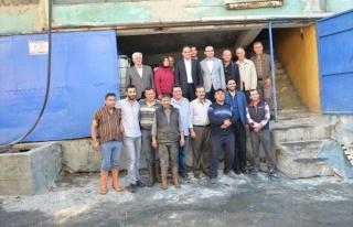AK Parti Milletvekili Baybatur'dan Kula'ya Ziyaret