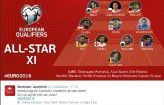 UEFA En İyi Kadroyu Açıkladı