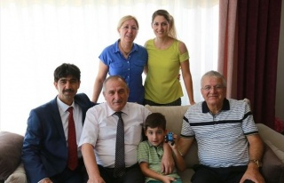Başkan Alaaddin Yılmaz Hasta Ziyaretlerine Devam...
