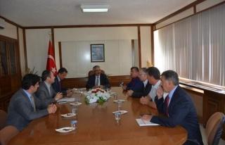 Sıcak Su Seracılık İhtisas OSB Çalışması Toplantısı...
