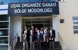 GEDİZ OSB YÖNETİCİLERİ UŞAK OSB'Yİ ZİYARET...