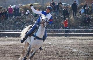 Türkiye Atlı Cirit Finalleri Hasankeyf`te Yapıldı