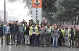 Taşeron Firmanın 56 İşçisi İşten Çıkarıldı...