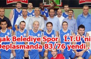 Uşak Belediye Spor İ.T.Ü 'ni deplasmanda 83/76...