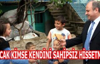Vali Özdemir Çakacak, ''Kimse Kendisini Yalnız,...