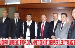 İSKİ GENEL MÜDÜRÜ ULUBEYLİ PROF.DR. AHMET DEMİR'İ...