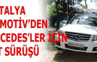 HASTALYA OTOMOTİV'DEN MERCEDES'LER İÇİN TEST...