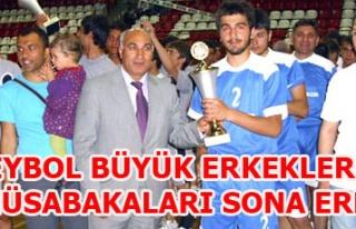 VOLEYBOL BÜYÜK ERKEKLER LİGİ MÜSABAKALARI SONA...