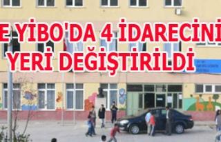EŞME YİBO'DA 4 İDARECİNİN YERİ DEĞİŞTİRİLDİ