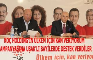 KOÇ HOLDİNG'İN ÜLKEM İÇİN KAN VERİYORUM KAMPANYASINA...