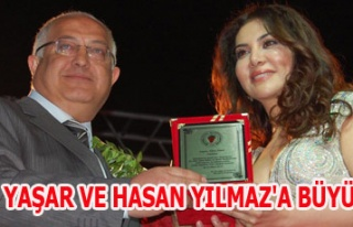 Hasan Yılmaz ve Ebru Yaşar'a büyük ilgi