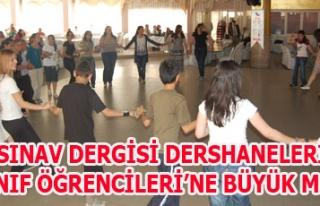 UŞAK SINAV DERGİSİ DERSHANELERİNDEN 6.SINIF ÖĞRENCİLERİ'NE...