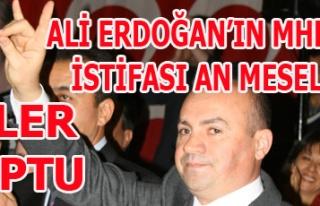 İPLER KOPTU ALİ ERDOĞAN'IN MHP'DEN İSTİFASI...