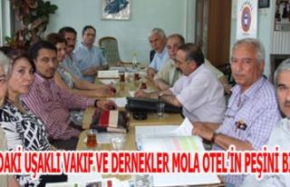 İSTANBUL'DAKİ UŞAKLI VAKIF VE DERNEKLER MOLA OTEL'İN...