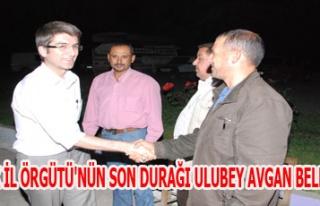 CHP UŞAK İL ÖRGÜTܒNÜN SON DURAĞI ULUBEY AVGAN...