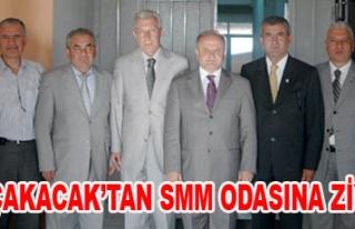 VALİ ÇAKACAK MALİ MÜŞAVİRLER ODASI BAŞKANI...
