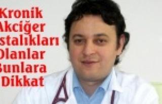 Kronik Akciğer Hastalıkları Olanlar Dikkat