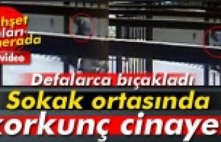 UŞAK'TAKİ AŞK CİNAYETİNİ SANİYE SANİYEKAMERALAR...