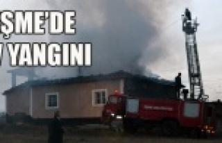 EŞME'DE EV YANGINI