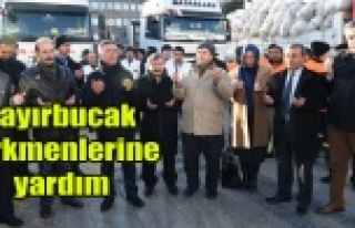 Bayırbucak Türkmenlerine yardım