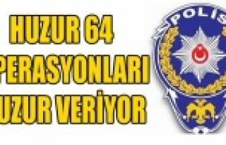 UŞAK'TA 20 GÜNDE 35 KİŞİ TUTUKLANDI