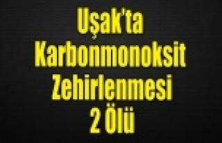 Uşak'ta karbonmonoksit zehirlenmesi: 2 ölü