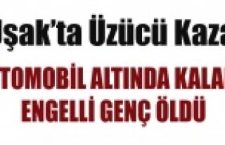 UŞAK'TA KAZA BİR ÖLÜ