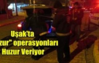 HUZUR OPERASYONLARI HUZUR VERİYOR